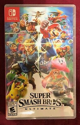 Super Smash Bros. Ultimate (Nintendo Switch, 2018) NIB