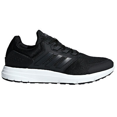 adidas Galaxy 4 Mens Adult Running Fitness Trainer Shoe Black/White