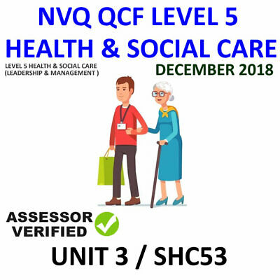 Unit 3 / Shc53 Nvq Qcf Diploma Level 5 Leadership Health And Social Care Help