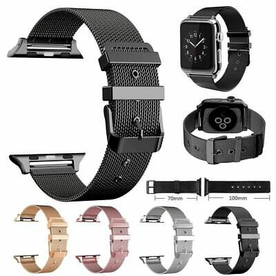 Stainless Steel Strap Band iWatch For Apple Watch Series 1/2/3/4 38/40/42/44mm