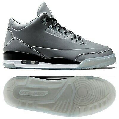 d234bf94c04d Nike Air Jordan 5Lab3 631603-003 Reflect Silver Black White 3M Men s Shoes