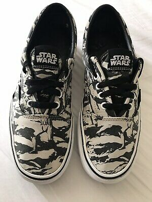 fc87d8b903 VANS STAR WARS Stormtrooper Bandana Shoes Size UK 9 limited Edition ...