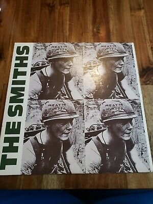 The Smiths Meat Is Murder Vinyl Record Rough Trade