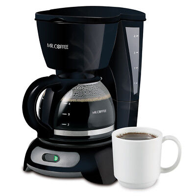 Mr. Coffee Simple Brew 4-Cup Switch Coffee Maker TF-DIS