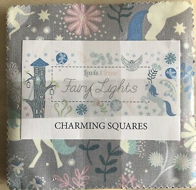 "5"" CHARM SQUARE 42 Piece Lewis /& Irene Enchanted Forest Charm Pack"