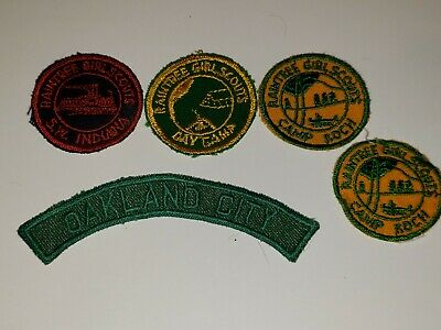 Girl Scouts of Central Indiana Raintree Girl Scouts Oakland City Vintage Patches