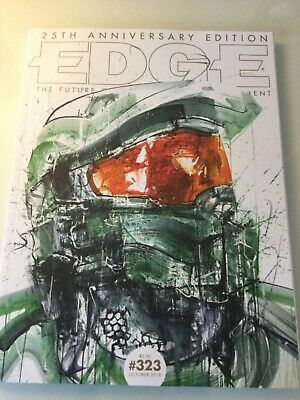 EDGE Magazine #323 October 2018 Halo Subscriber Edition.