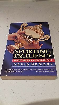 Sporting Excellence By David Hemery Paperback Book, What Makes A Champion