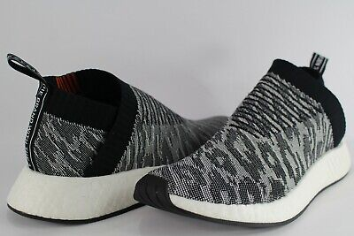 38b407cd46532 Adidas NMD CS2 PK Tiger Camo Black White Future Harvest 9.5 BZ0515 PrimeKnit