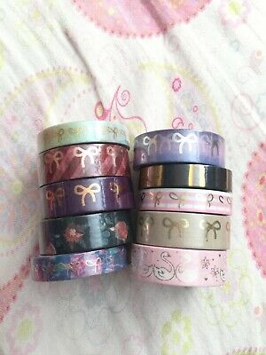 Simply Gilded Misfit / Oops Washi Tape Set of 10