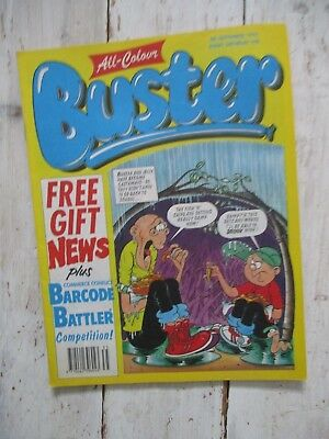 VGC All-Colour Buster Comic 4th September 1993