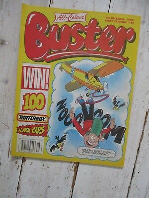 VGC All-Colour Buster Comic 5th December 1992