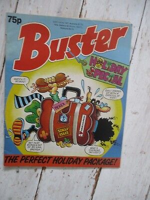 VGC Buster Holiday Special Comic 1984 The Perfect Holiday Package!