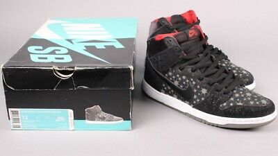 best sneakers fb8d3 85dc5 NIKE DUNK HIGH PREMIUM SB BROOKLYN PROJECTS PAPARAZZI 313171 025 Sz 13  Supreme