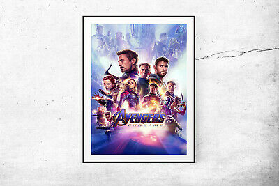 Marvel Avengers Endgame Movie Poster Maxi Prints 2019 Infinity War 2 -1671