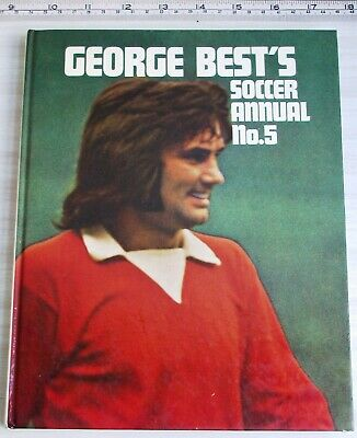 George Best's Soccer Annual No. 5 1972 Football Hardback Book