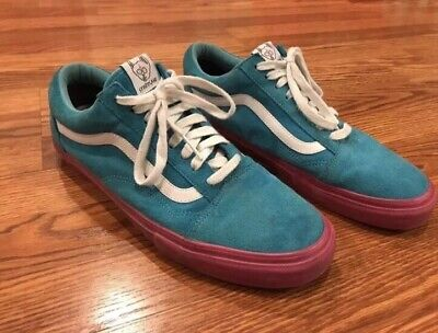 83d3bec95aa7 VANS SYNDICATE X Golf Wang Old Skool Blue and Pink SZ 11 With OG Box ...