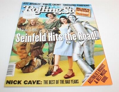 Rolling Stone Magazine July 1998 Scienfeld Hits The Road
