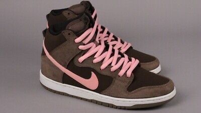 popular stores factory price new arrivals NIKE DUNK HIGH Pro SB Size 11.5 Smoke/Ion Pink-Baroque Brown ...