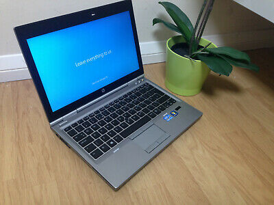 HP Elitebook 2570P Laptop Core i7 320bg 4gb Windows 10 Pro DVD WIFI ONE OWNER