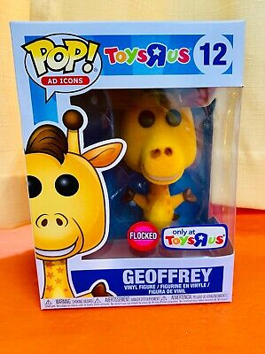 Geoffrey #12 Ad Icons Funko Pop Vinyl Figure Flocked Exclusive Toys R Us