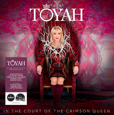 """TOYAH IN THE COURT OF THE CRIMSON QUEEN 12"""" Purple vinyl  RECORD STORE DAY 2019"""