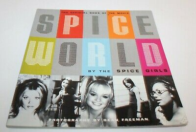 Spice World By The Spice Girls The Official Book Of The Movie 1997 Paperback