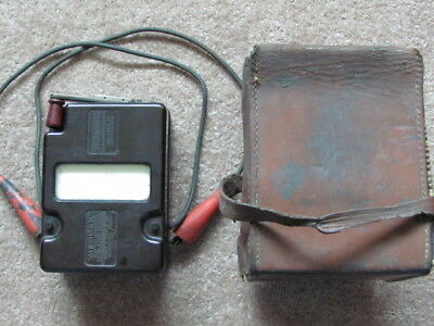 Variable Pressure Midget Megger James G. Biddle Co Insulation Tester Megohmmeter