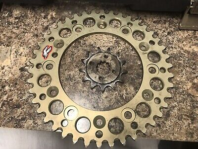 Renthal Rear Sprocket 42 Tooth Silver Fits Honda CRF250L Rally 2017-2018