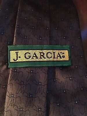 c10323581d9b Jerry Garcia Neck Ties 100% Silk, Carousel - Collection 14.- Brown Black