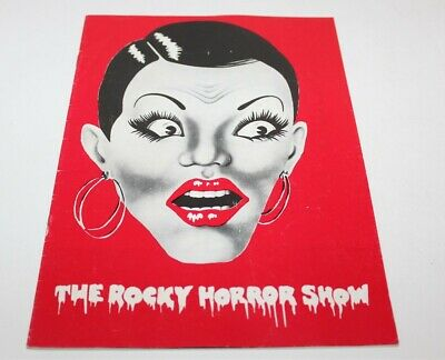 The Rocky Horror Show Program Book Programme With Dance Steps Sheet