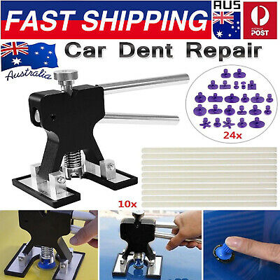 Hot Car Paintless Dent Repair Tools Dint Hail Damage Remover Puller Lifter Kit