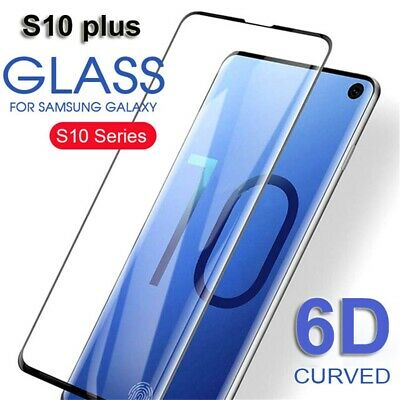 6D Curved Full Cover Tempered Glass Film Screen Protector For Samsung Galaxy New