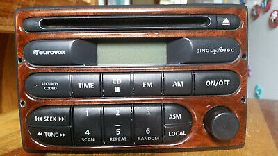 holden audio with pin model 92082-104 2002 vt-vx 09/97-