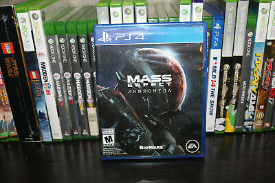 Mass Effect: Andromeda (Sony PlayStation 4, 2017) NEW SEALED