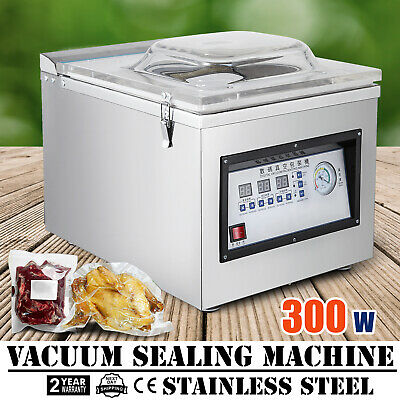 DZ-260C Digital Vacuum Packing Sealing Machine Sealer Solid Package 300W HOT