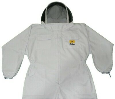 Mens Bee Suit -  Goldbee -  Professinal's Choice - Hard Wearing - Thick - Large