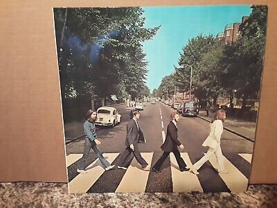 The Beatles - Abbey Road - Vinyl Lp - Apple Record Label - Plays And Looks Beaut