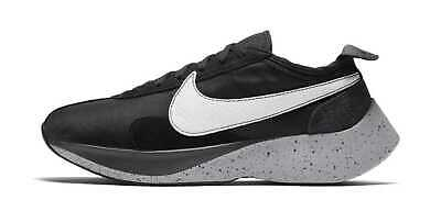 NEW Nike Men's Moon Racer Running Shoes Black Grey White MANY SIZES AQ4121 001