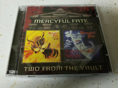 Mercyful Fate Don't Break the Oath and Return of the Vampire Rare two CD set