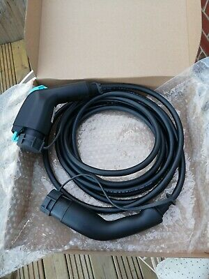 Ev Charging Cable Type 1 To Type 2. Nissan, Leaf, PHEV, Renault.