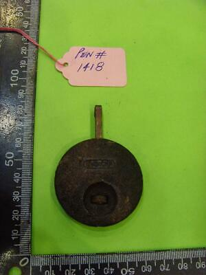 pen#1418 Single  1930's mantle  clock parts pendulum    67mm top to bottom