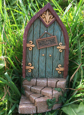 Large Fairy Door Garden Mythical Magical Elf Pixie Faeries New & Boxed