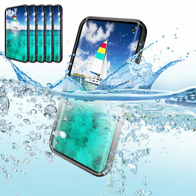 Waterproof Case Cover Support Wireless Charging For Samsung Galaxy S10 Plus S10e