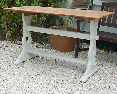 Vintage Pine Tavern Table Refectory kitchen dining desk FREE DELIVERY