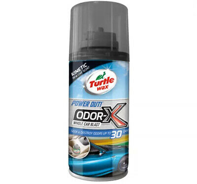 Turtle Wax 53099 Power Out! Odor-X Whole Car Blast