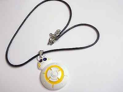 Star Wars BB8 droid Zinc Alloy necklace uk seller
