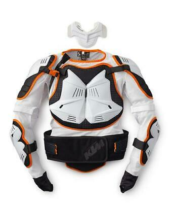 KTM Exo Motocross Off Road Protector Set White Black Armour New RRP £164.16!!