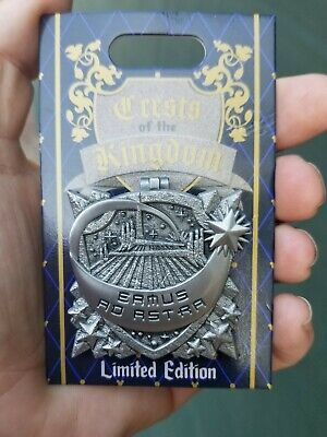 Disney Parks Crests Of The Kingdom space mountain Pin