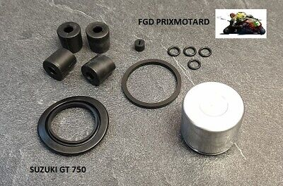 Suzuki Gt 750 1972/1977 Piston Etrier Frein Kit Refection